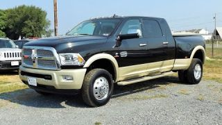 2016 Ram 3500 Longhorn Mega Cab 4X4 Cummins Turbo Diesel Start Up, Review and Tour